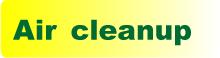air cleanup