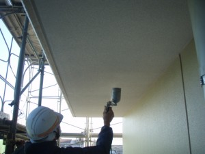 外壁塗装表面